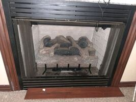 Monessen GCUF Series Vent Free Fireboxes with logs used 3 times ever