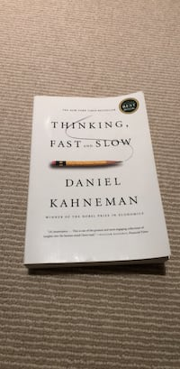 Thinking Fast and Slow Daniel Kahneman Oakville, L6L 4Y8