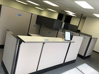 Office cubicles and cubicle parts
