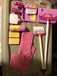 """Kids cleaning play set  """"just like mom"""""""