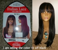 New FreeTress Equal Synthetic Italian Lace Front Wig Lanham