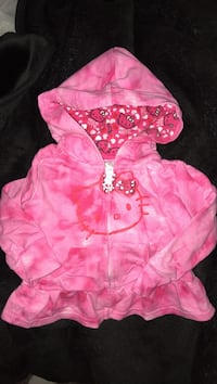 Hello kitty hoodie for baby size 6-12 months  3729 km