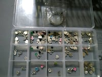Floating locket with charms Las Cruces, 88005