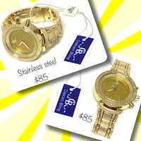 14k laminated stainless steel watches available  Winnipeg, R2M 2T7