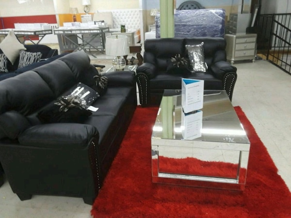 Prime Black Leather Sofa Set With Throw Pillows Uwap Interior Chair Design Uwaporg