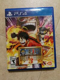One Piece Pirate Warriors 3 PS4 Like New Johnson City, 13790