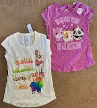 NWT Justice size 10 T-shirt's Plano, 75093