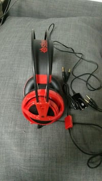 Steelseries Siberia V2 Red Headset Linden, 07036