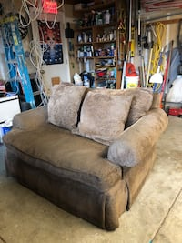 Couch and love seat in good condition 2411 mi