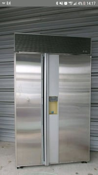 Sub Zero 690 stainless steel side by side refriger Rochester, 14621