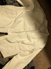 white button-up jacket Corona, 92882