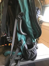 green and black hiking backpack Leesburg