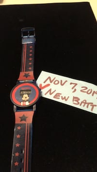 Watch child's watch manufactured exclusively for Walt Disney productions  Mickey Mouse digital watch only one leftGreat present for the holidays