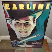 Karlini the great magician framed art Temple Hills, 20748