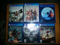 PS4 Games 20.00 each