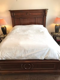 Ethanallen bed and Simmons beautyrest mattress good condition Newmarket, L3Y 6V3