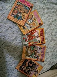 five assorted Fairy Tail books Brooklyn, 11225