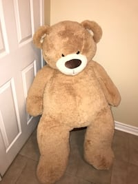 Beige and brown life-size bear plush toy Windsor, N9G 2S5