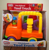 Toy Tool Truck