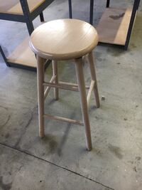 round brown wooden seat chair Germantown, 20874