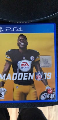 Sony PS4 EA Sports Madden NFL 18 case 773 km