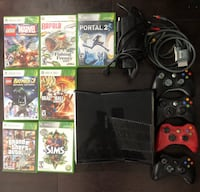 Xbox 360 full set with 4 controllers and games Ottawa, K2J 5Z3
