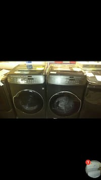 Double washer and dryer sets