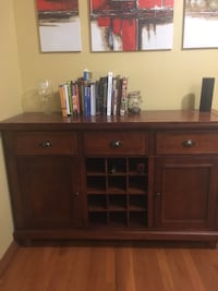 Cherry wood Sideboard cabinet East Patchogue, 11772