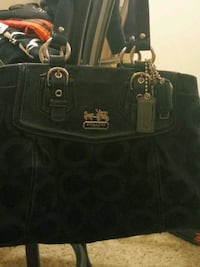 Real authentic black coach hand back, Towson, 21204
