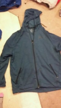 blue zip-up hoodie Nanaimo, V9T 0A7