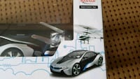 Rc Car BMW i8 model & helicopter - NEW