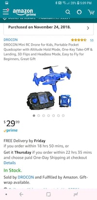 blue and black quadcopter drone screenshot Tracy, 95391