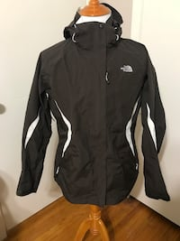 WOMENS X-LARGE NORTH FACE HOODED JACKET  Alabaster, 35007