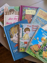 Vintage 1960's & 70's Children's Books