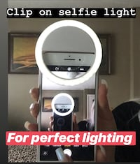 Selfie lighting clip  Toronto, M9N 2Z5