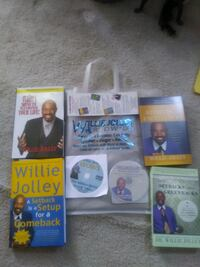 Dr. Willie Jolly Set of Books Dale City