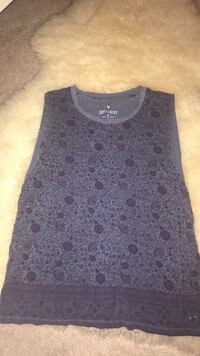 black and gray floral tank top Edmonton, T6R 0R9