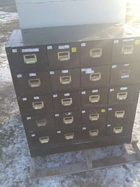 Metal cabinet $1400.00 Lethbridge