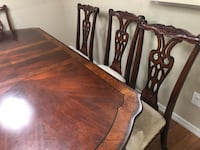 brown wooden dining table set Modesto, 95357