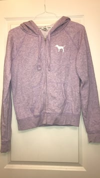 purple and white Nike zip-up jacket Ames