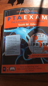 Score builders pta exam the complete study guide book by scott m. giles Alexandria, 22308