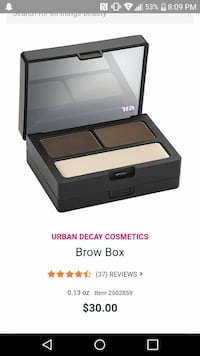 Urban decay brow box new!  Kingsport, 37660