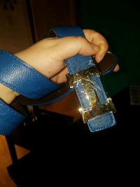 blue and color leather belt St. Albert, T8N 2Z6