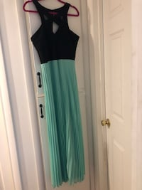 Women's black and teal sleeveless dress West Valley City, 84120