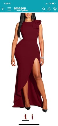 Wine Dress for size 10/12 woman