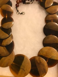 NECKLACE WOMEN WOOD NECKLACE