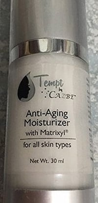 Tempt by Cazbe Anti Aging moisturizer
