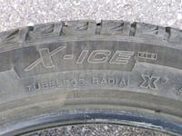 Michelin X-Ice Winter tires - barely used