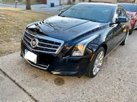 2013 Cadillac ATS 2.0T Luxury Collection AWD - Salvage Title Des Moines