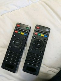 two black android controls, 15 each  Edmonton, T5M 0V8